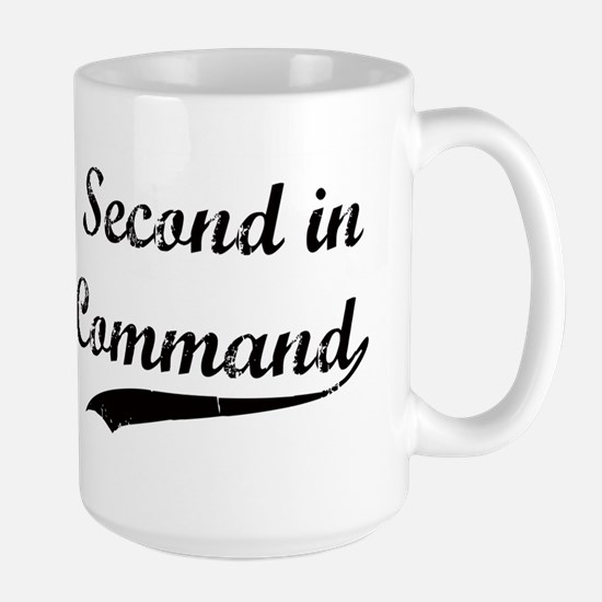 Second in Command Mugs