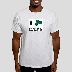 I Shamrock CATY Ash Grey T-Shirt