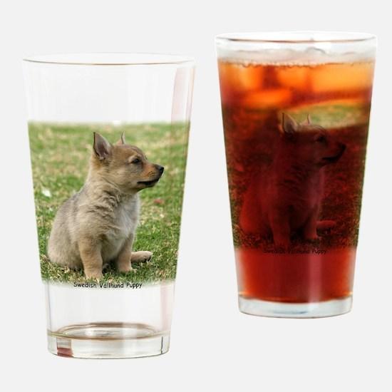 Swedish Vallhund Pup 9Y165D-131 Drinking Glass