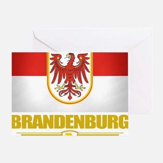 Brandenburg (Flag 10) Greeting Card
