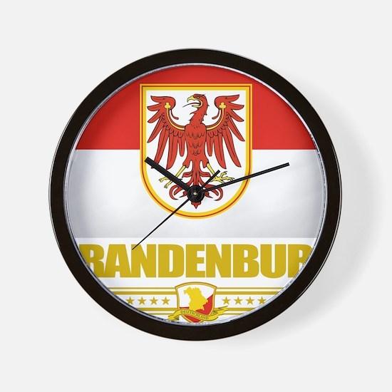 Brandenburg (Flag 10) Wall Clock