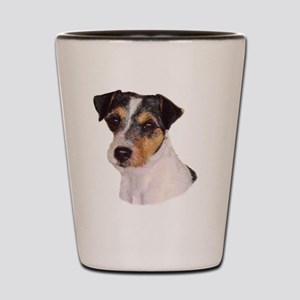 JACK RUSSELL oval Shot Glass
