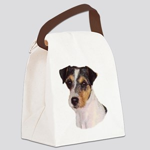 JACK RUSSELL oval Canvas Lunch Bag