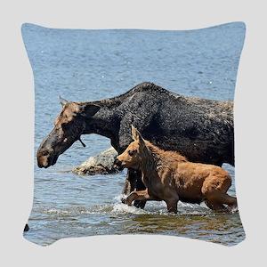 16x20_print 2 Woven Throw Pillow