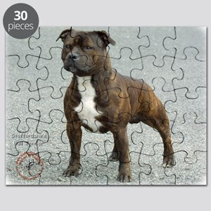 Staffordshire Bull Terrier 9F23-14 Puzzle