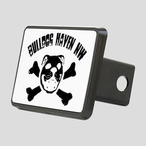 BulldogSkull_wBHNW_FULLSIZ Rectangular Hitch Cover