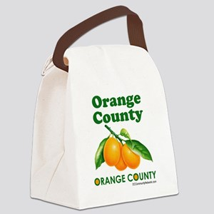 orange-county-design Canvas Lunch Bag
