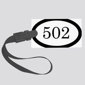502_bumper Large Luggage Tag