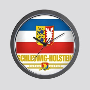 Schleswig-Holstein (Flag 10) Wall Clock