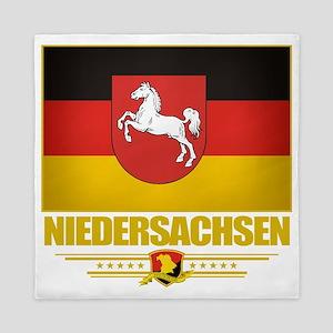 Niedersachsen (Flag 10) Queen Duvet