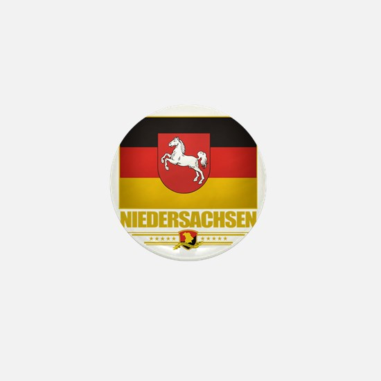 Niedersachsen (Flag 10) Mini Button