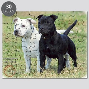 Staffordshire Bull Terrier 9P033D-100 Puzzle
