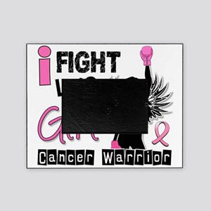 Fight Like A Girl Breast Cancer 26.2 Picture Frame