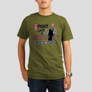 Fight Like A Girl Bre Organic Men's T-Shirt (dark)