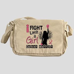 Fight Like A Girl Breast Cancer 26.2 Messenger Bag