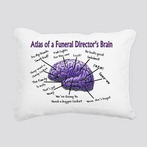 Atlas of a Funeral Direc Rectangular Canvas Pillow