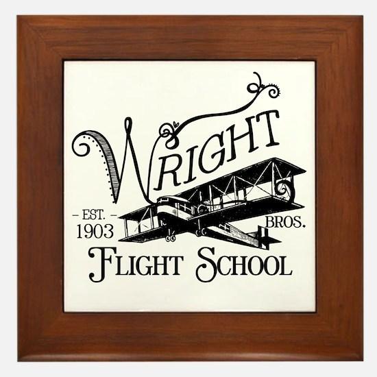 FlightSchool Framed Tile