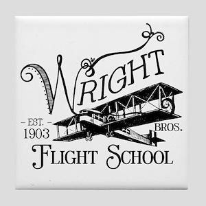 FlightSchool Tile Coaster