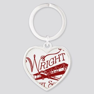 FlightSchoolCrimson Heart Keychain