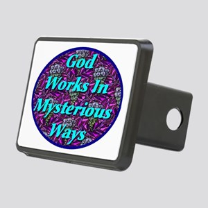 god_works_in_mysterious_wa Rectangular Hitch Cover