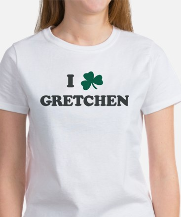 I Shamrock GRETCHEN Women's T-Shirt