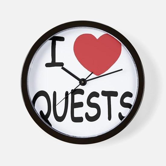 QUESTS Wall Clock