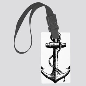 AnchorBlack Large Luggage Tag