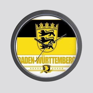 Baden-Wurttemberg (Flag 10) Wall Clock