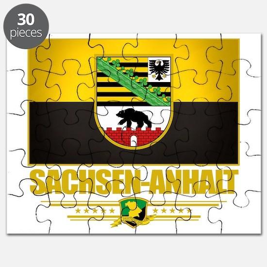 Sachsen-Anhalt (Flag 10) Puzzle