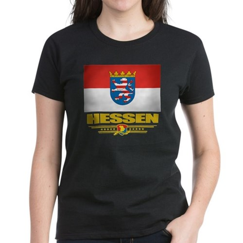 Hessen (Flag 10) Women's Dark T-Shirt