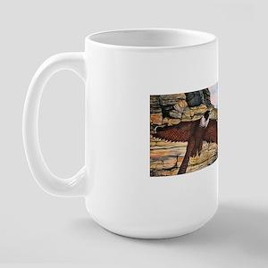 birds of prey Large Mug