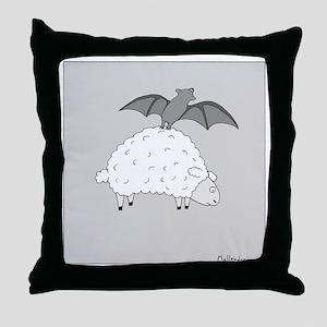 Fruit Bat - no text Throw Pillow