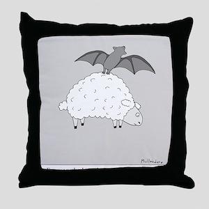 Fruit Bat Throw Pillow