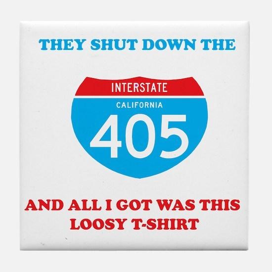 interstate-4052 Tile Coaster