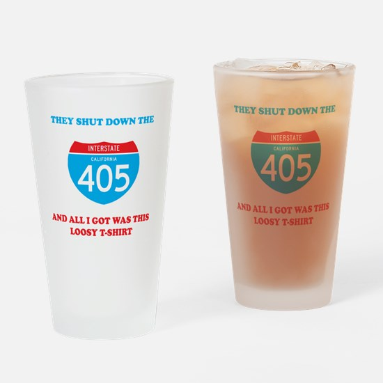 interstate-4052 Drinking Glass
