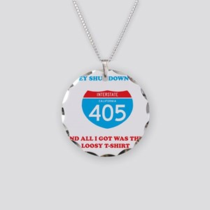 interstate-4052 Necklace Circle Charm