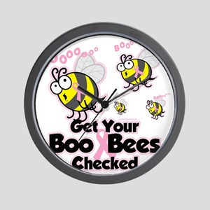 Save-The-Boo-Bees Wall Clock