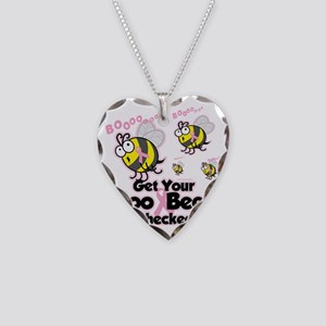 Save-The-Boo-Bees Necklace Heart Charm