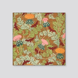 "thistles Square Sticker 3"" x 3"""