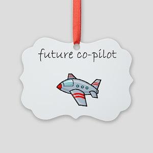 future co-pilot Picture Ornament