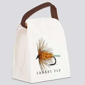 Carrot Fly Canvas Lunch Bag