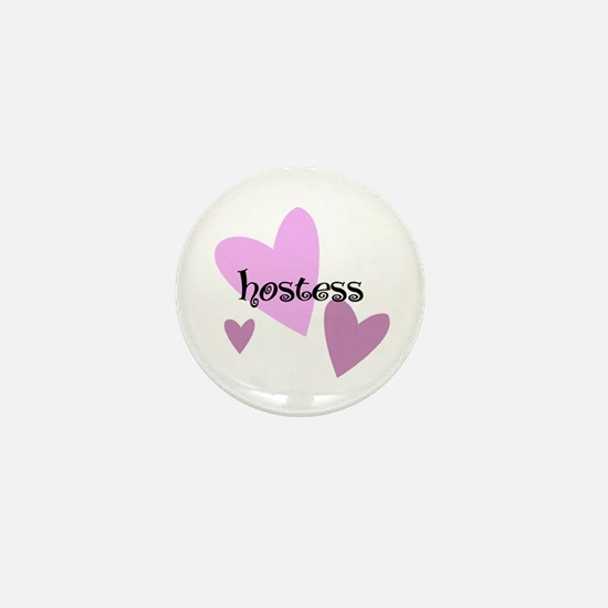 Hostess Mini Button