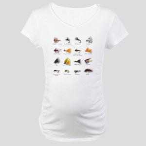 Flies Maternity T-Shirt