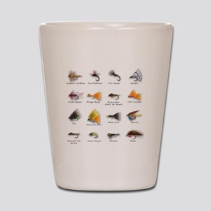 Flies Shot Glass
