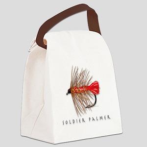 Soldier palmer Canvas Lunch Bag