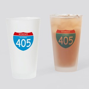 interstate405F Drinking Glass