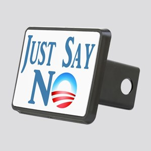 Just Say NO Rectangular Hitch Cover