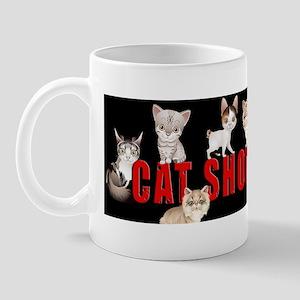 Cat Show Car Magnet Mug
