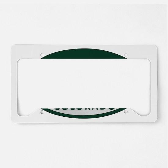10k_license_oval License Plate Holder