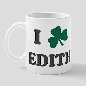 I Shamrock EDITH Mug